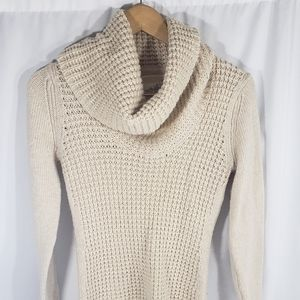 Anthropologie Angel of North Cream Knit Sweater